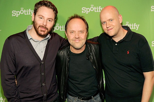 Metallica Joins Spotify, Buries Hatchet With Napster Nemesis