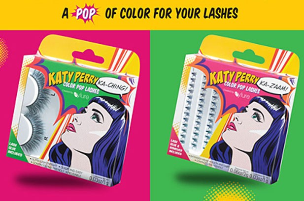 Katy Perry Launches Colorful Faux Eyelash Collection