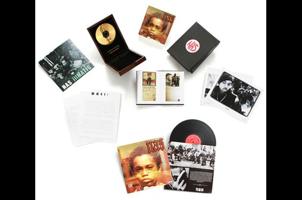 Get On Down Records Releases Nas 'Illmatic' 'Gold Edition' Deluxe Box Set