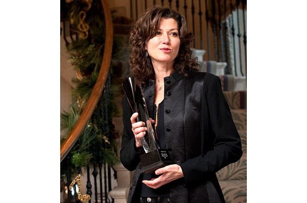 Amy Grant Honored for Charity Work at Governor's Mansion