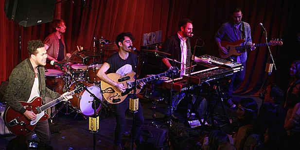 Local Natives Preview 'Hummingbirds' at Private Show