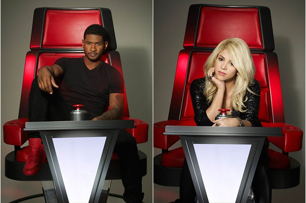Shakira to 'Bust Heads,' Usher Promises Strict Style on 'The Voice'