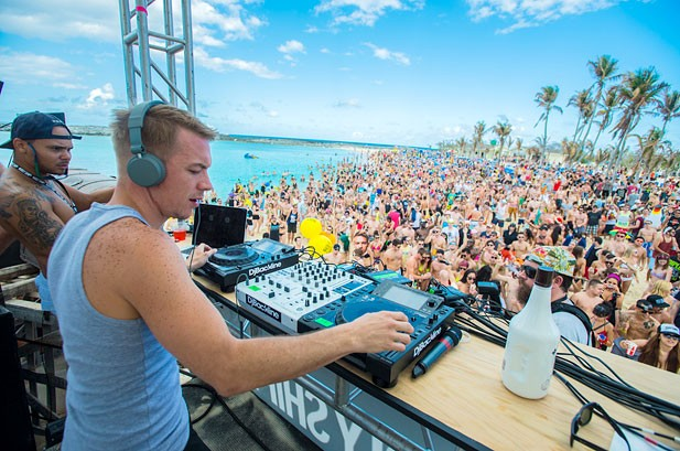 Holy Ship!! 2013 Photos: Skrillex, Diplo, Justice & More Rock The Boat