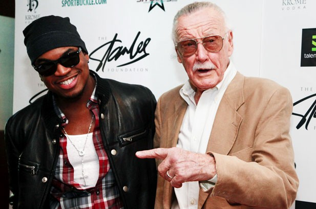 Ne-Yo Teams Up with Stan Lee at New York Comic Con