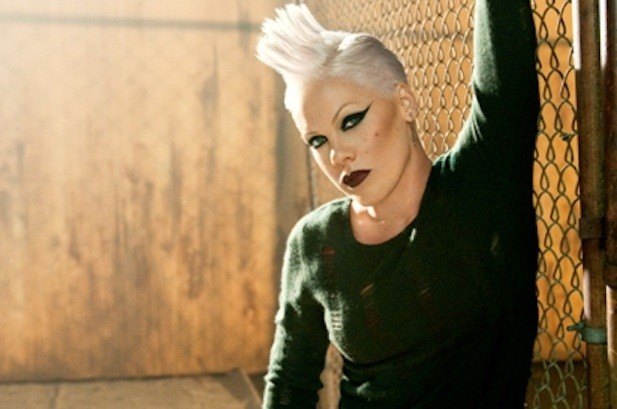 Pink Gets in Character For 'Raise Your Glass' Video