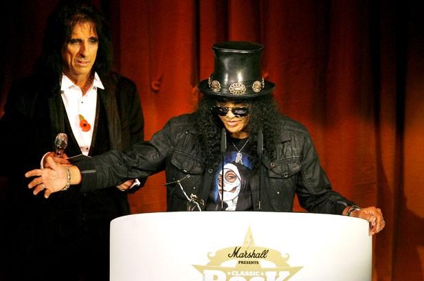 Slash, AC/DC, Rolling Stones Win At Classic Rock Awards
