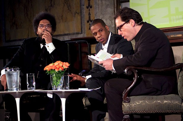 Jay-Z Says Oprah, Belafonte Are Inspirations During 'Decoded' Reading