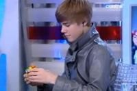 Watch: Justin Bieber Solves Rubik's Cube in Less Than Two Minutes