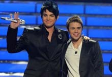 Adam Lambert Defeated in 'American Idol' Upset