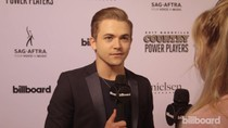 Hunter Hayes on the Red Carpet at Country Power Players 2017