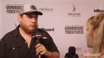 Luke Combs on the Red Carpet at Country Power Players 2017