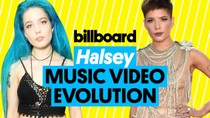 Halsey Music Video Evolution | Billboard