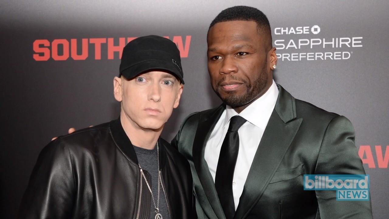 Eminem 50 Cent Diss Nick Cannon Billboard News Billboard
