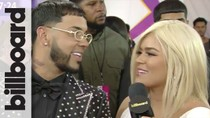 Anuel AA & Karol G Talk Touring Together & BBLMA Nominations | Billboard Latin Music Awards 2019