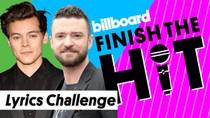 Finish The Hit: One Direction, BSB & *NSYNC - Boy Band Lyrics Challenge | Billboard