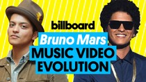 Bruno Mars Music Video Evolution | Billboard