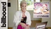 P!nk Reacts To Her Very First Music Video, Her Iconic 'Glitter In the Air' Grammys Performance & More | Throw It Back