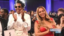 JAY-Z Sets the Record Straight on Why He & Beyonce Sat During Super Bowl National Anthem | Billboard News