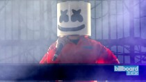Marshmello Collaborations Include Kane Brown & Cardi B | Billboard News