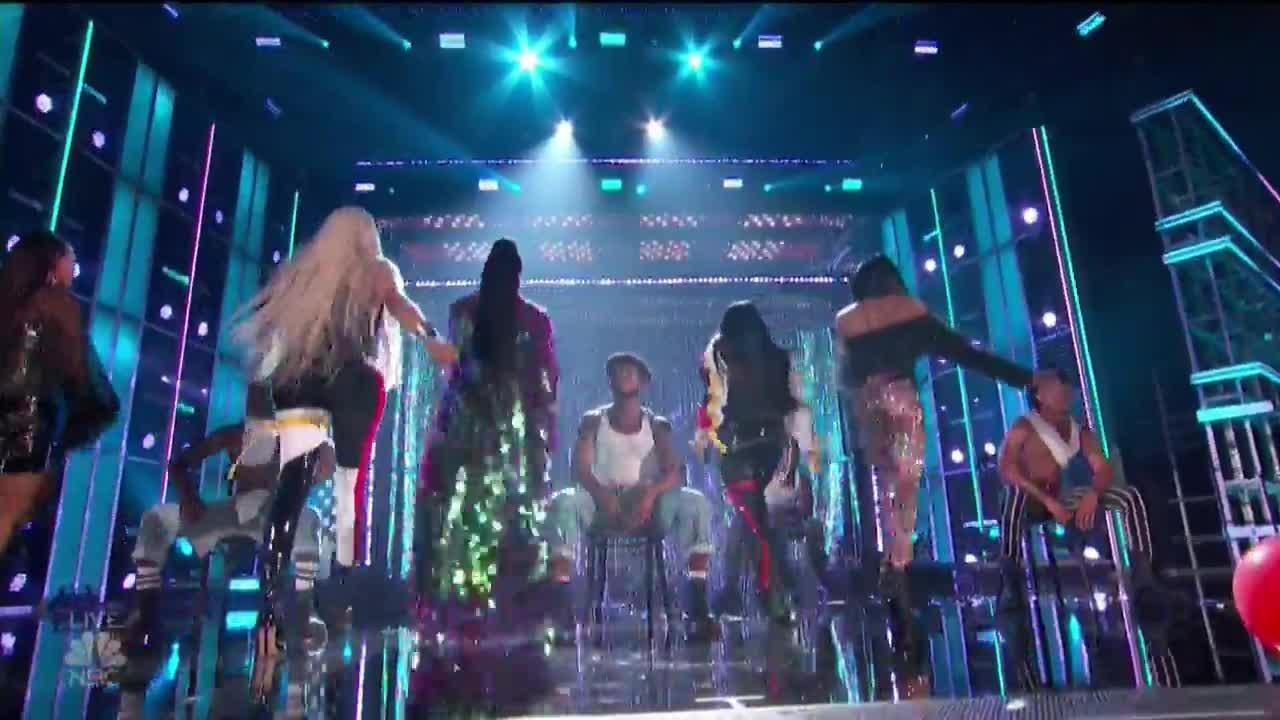 Salt N Pepa Perform With En Vogue At The 2018 Billboard Music Awards Billboard