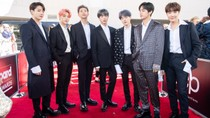 BTS Had a Blast at 2019 BBMAs Meeting Drake, Cardi B & Jonas Brothers | Billboard News